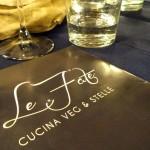 A cena (vegana) con le stelle – Le Fate – Firenze