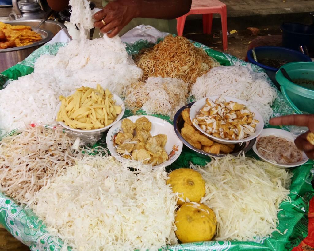 Burmese food - cibo birmano