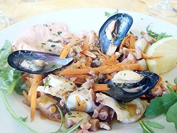Paola - Calabria - antipasto misto di pesce