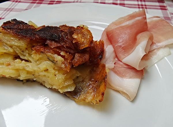 Il Rivellino - Belmonte Calabro - frittata di patate