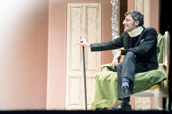 Una casa di bambola - Filippo Timi - credits: www.teatrofrancoparenti.com