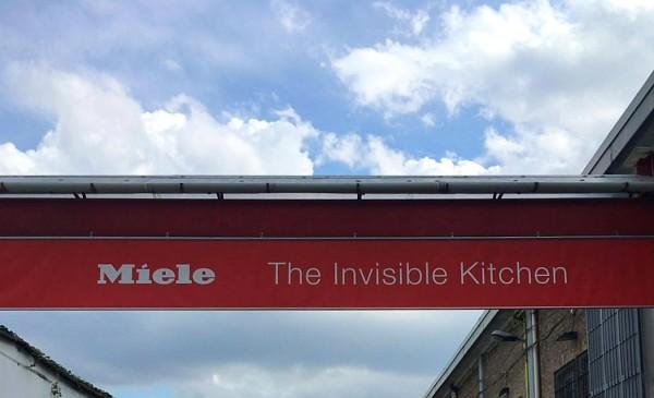 The Invisible Kitchen - Miele - Fuorisalone 2016 - Milano