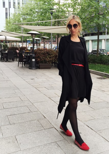 Little Black Jumpsuit - L'Abitino Easy Chic - Milano