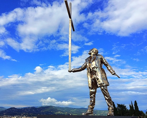 Jan Fabre - Spiritual Guards - Forte Belvedere - Firenze