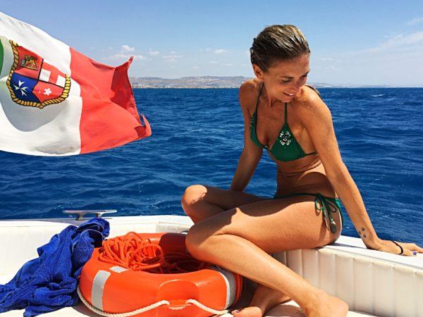 Boat trip @ Mandranova - Licata - Sicily