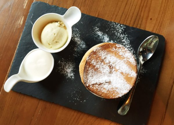 pistacchio souffle