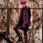 Black dress & Burgundy – Welcome Autum