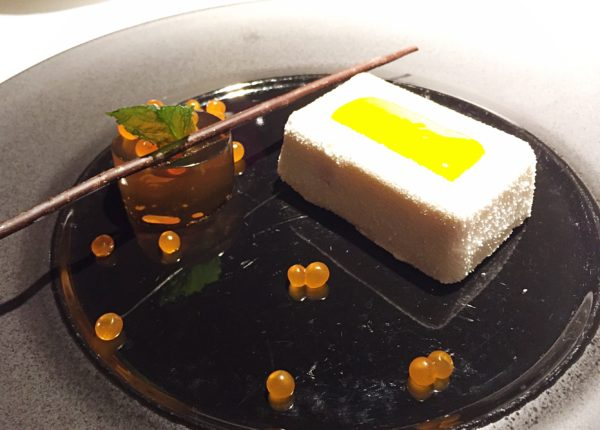 InAzia Restaurant - Warsaw - Varsavia - CHEESECAKE • LEECHY • GREEN TEA JELLY