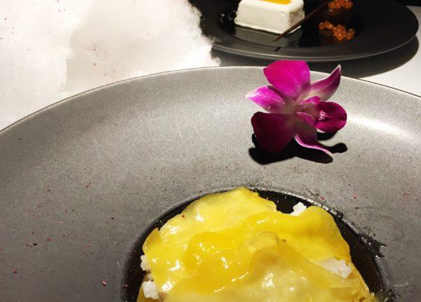 InAzia Restaurant - Warsaw - Varsavia - MANGO STICKY RICE • CANDY FLOSS