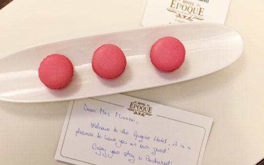 Hotel Epoque - Bucuresti - Bucarest . Macarons