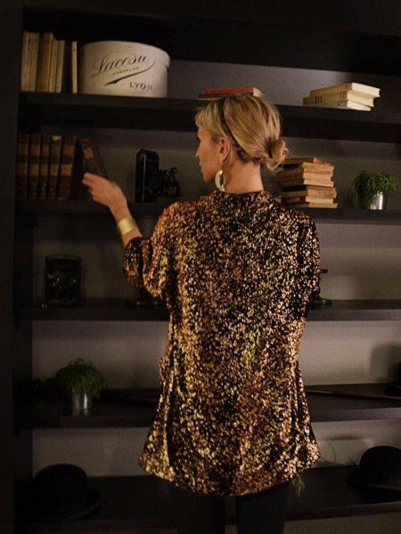 Velvet dress - Caftanii Firenze