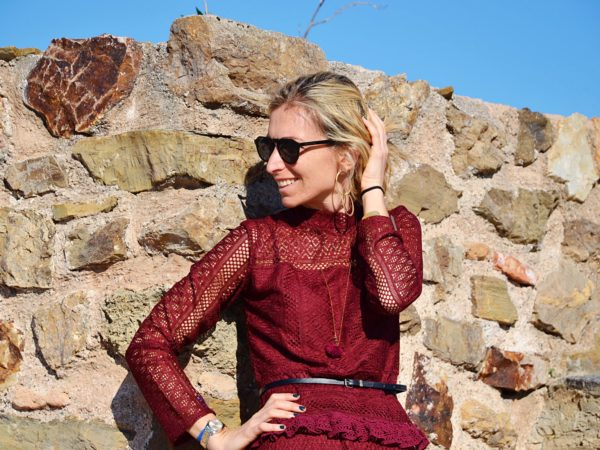 Burgundy outfit inspirations - Sevilla - Spain