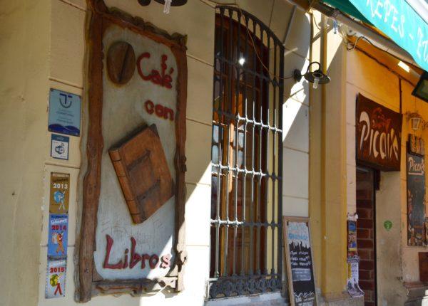 Malaga - Cafè con Libros