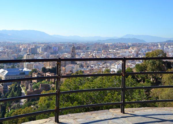 Malaga - Castillo de Gibralfaro