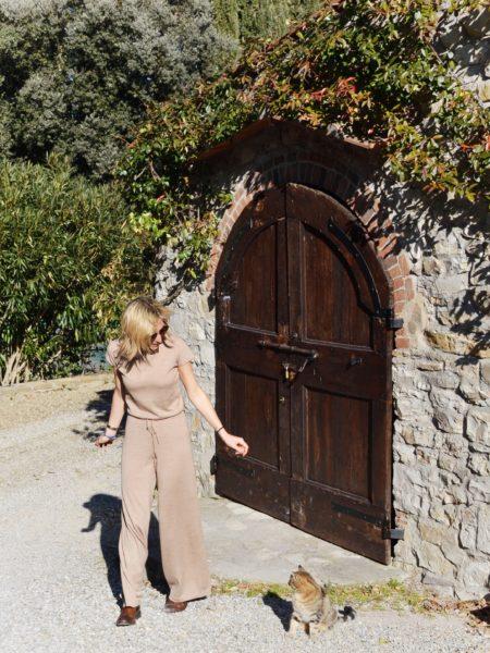 Outfit inspirations - Deha beige jumpsuit