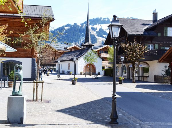 Springtime in Gstaad