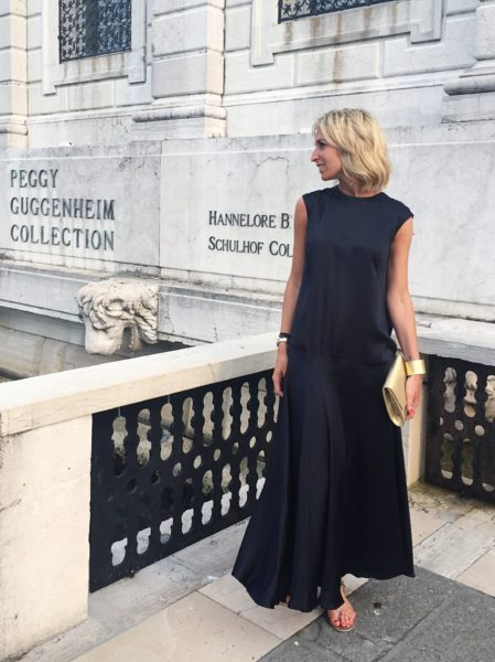Black Benedicte dress – Caftanii Firenze – A/I 17