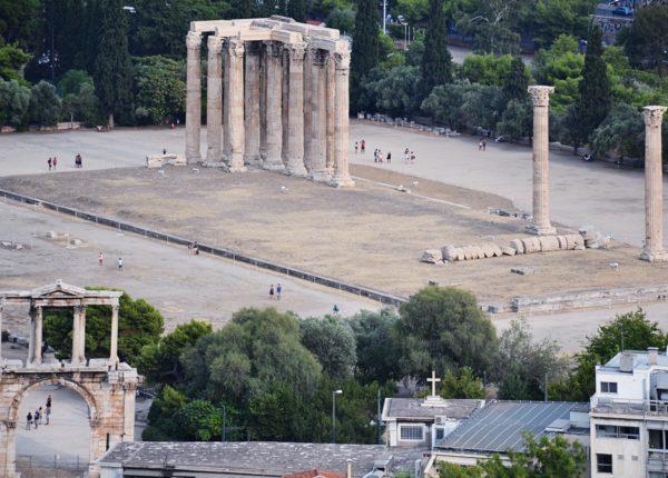 Tempio di Zeus - Atene
