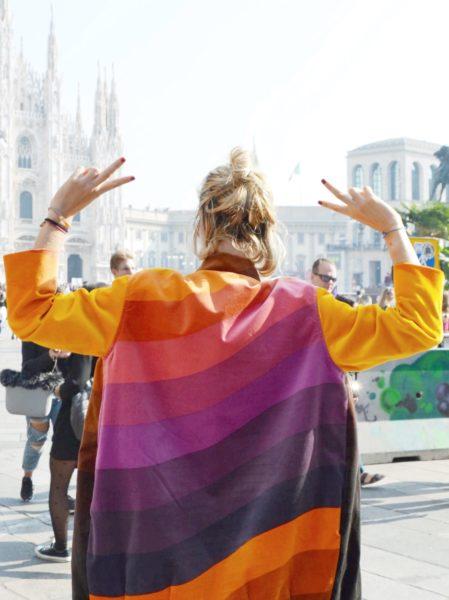 Rainbow Coat FW17 - Atelier Monica Puppo