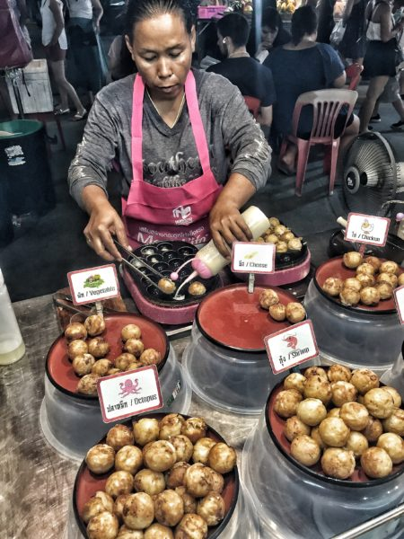 Thailand - Kho Phangan -Food Market