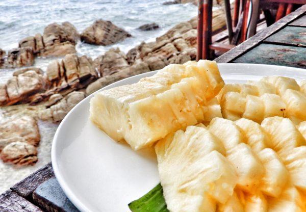 Thailand - Koh Phangan - pineapple