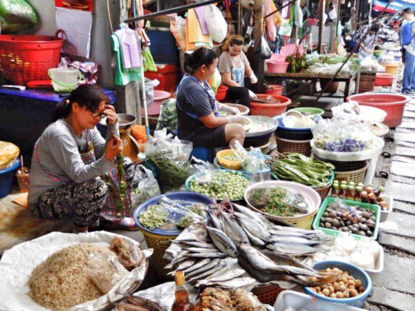 Thailand - Bangkok - Railway Market