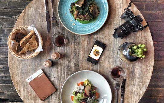 flatlay food photography