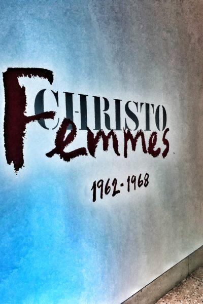 Christo - Femmes - Musée Yves Saint Laurent - Marrakech