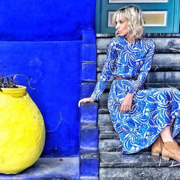 Outfit inpirations - Jardin Majorelle- Marrakech