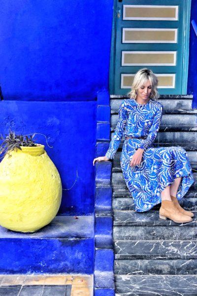 Outfit inpirations - Jardin Majorelle - Marrakech