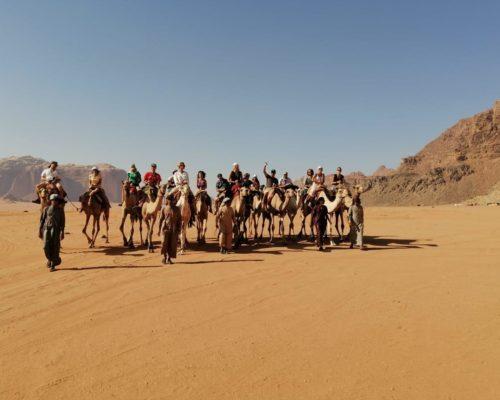 Camel Ride - Wadi Rum - Giordania