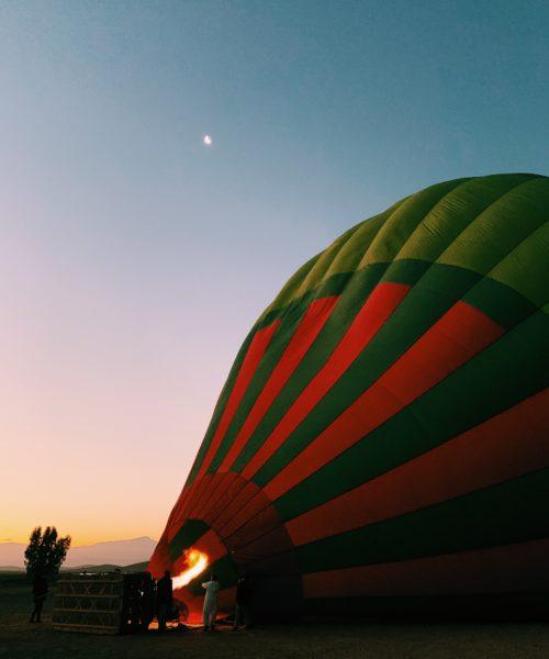 Air Baloon - Ciel d'Afrique - Morocco